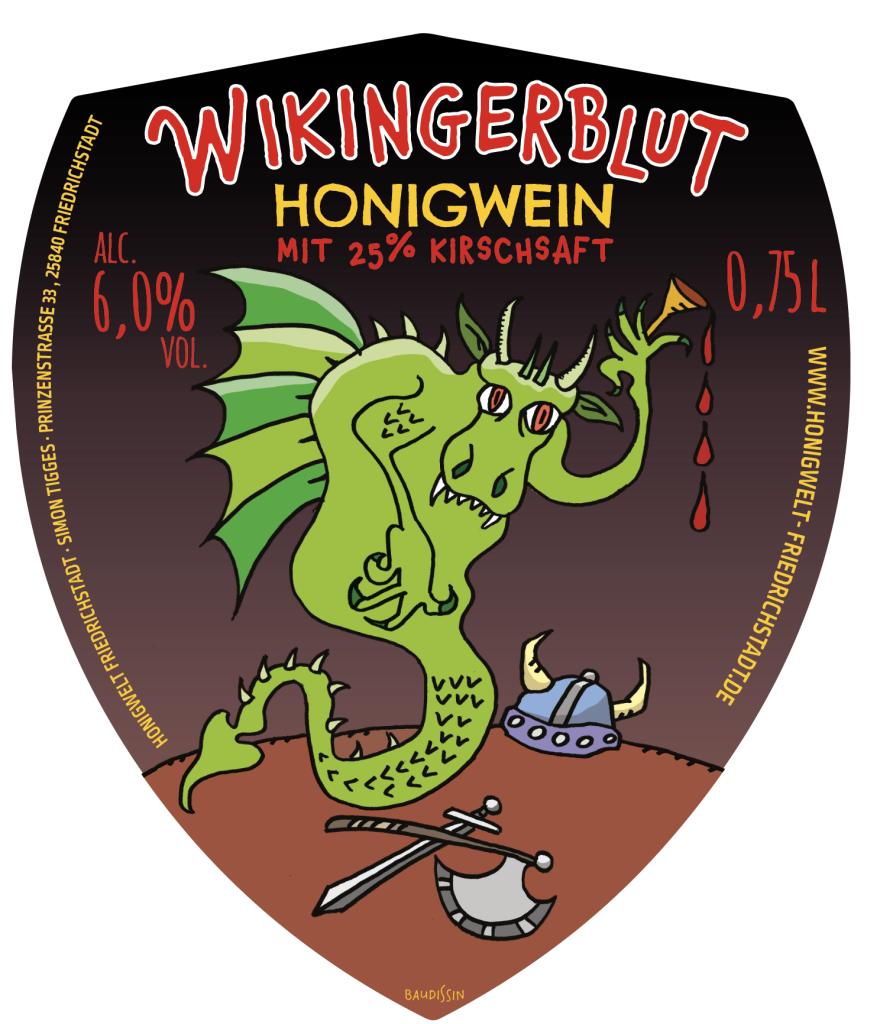 """""""Fafnir"""" – Honigwein Wikingerblut"""