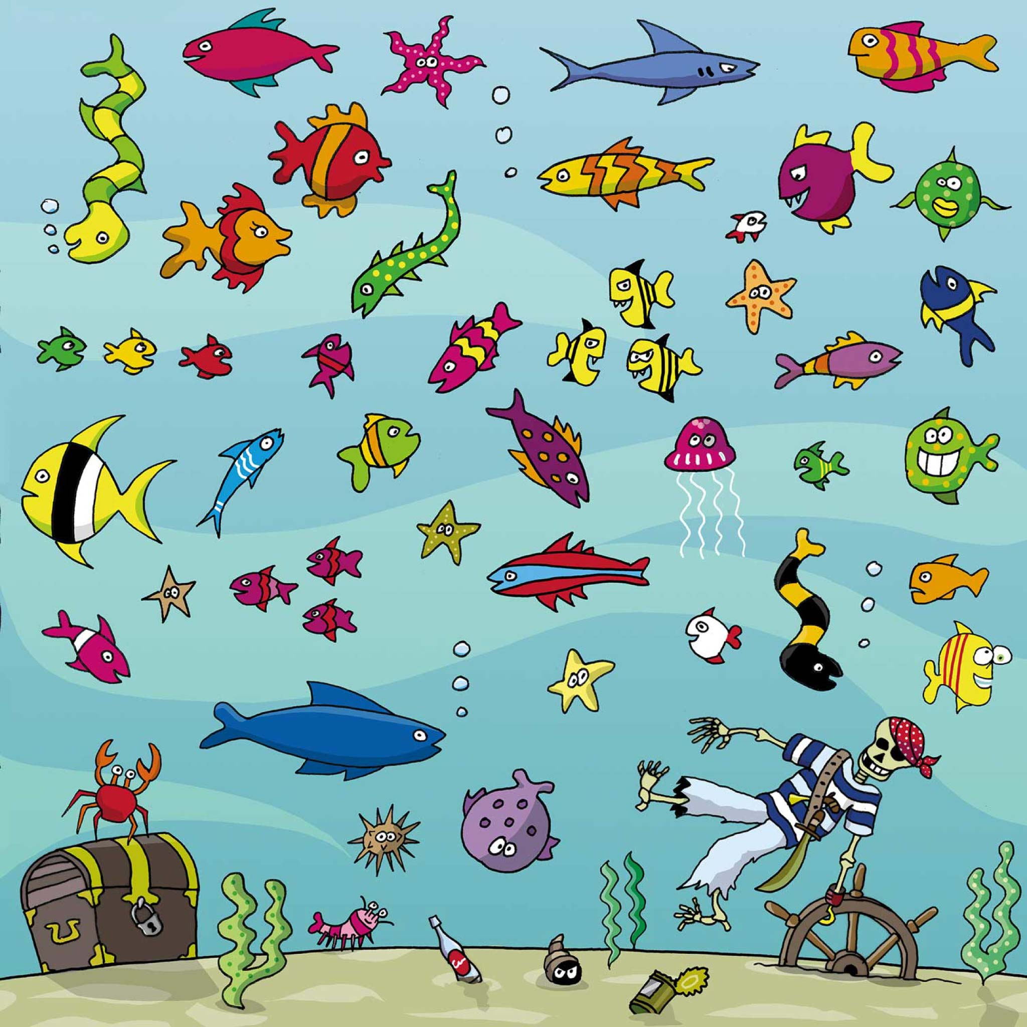 Under The Sea/ Happy Fish