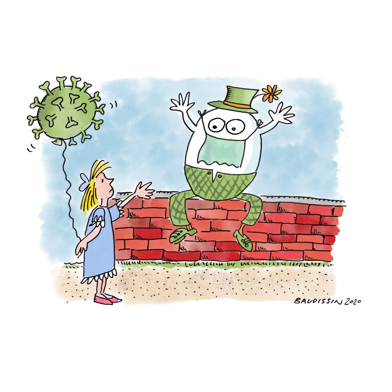 Alice in Coronaland 3: Alice & Humpty Dumpty