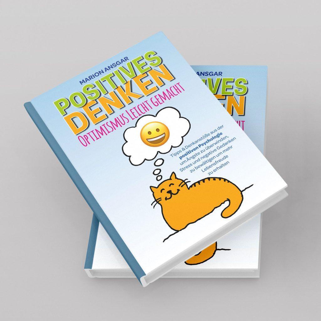 Positiv Denken Coverdesign